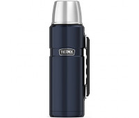 Thermos - Stainless King 40oz Beverage Bottle, Midnight Blue