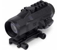 Steiner Optics - T432 (4x32mm) T-Sight Rifle Red Dot Sight with Rubber Armoring, Waterproof, Fogproof and Shockproof, 7.62 Reticle