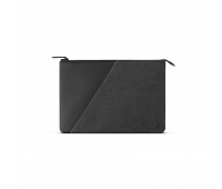 """Native Union Stow 13"""" Laptop Sleeve – Sleek & Slim 360-Degree Protection with Exterior Pocket – Compatible with MacBook Air 13"""", MacBook Pro 13"""" (2016-2019)(Slate)"""