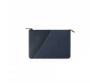 """Native Union Stow 12"""" Laptop Sleeve – Sleek & Slim 360-Degree Protection with Exterior Pocket – Compatible with MacBook 12"""" (Indigo)"""