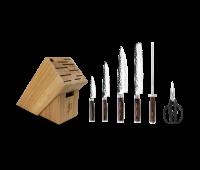 Shun Cutlery Premier 7 Pc Essential Knife Block Set