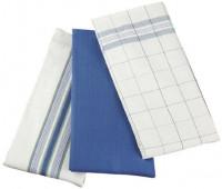 Le Creuset - Set of 3 Kitchen Towels, Cobalt
