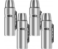Thermos Stainless King 40oz, Stainless Steel - 4 Pack