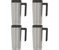 Guardian Collection by Thermos 18oz Stainless Steel Mug, Matte - 4 Pack