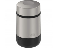 Thermos - Guardian 18oz Travel Food Jar, Matte Steel