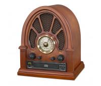 Vintage Wood CD Bluetooth Table Radio