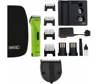 Wahl Professional Animal Arco Pet, Dog, Cat, and Horse Cordless Clipper Kit - Green Apple + Wahl Professional Animal 5-in-1 Diamond Blade